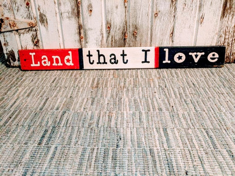 Land That I Love - Graceful Journey Co. Sagewood Sign Co unique gift idea, barn board signs, jewelry, mom essentials, farmhouse style, simplify your life, Premier Designs