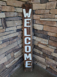 Welcome/Gather Porch Sign - Graceful Journey Co. Sagewood Sign Co unique gift idea, barn board signs, jewelry, mom essentials, farmhouse style, simplify your life, Premier Designs