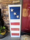 Stars and Stripes - Graceful Journey Co. Sagewood Sign Co unique gift idea, barn board signs, jewelry, mom essentials, farmhouse style, simplify your life, Premier Designs