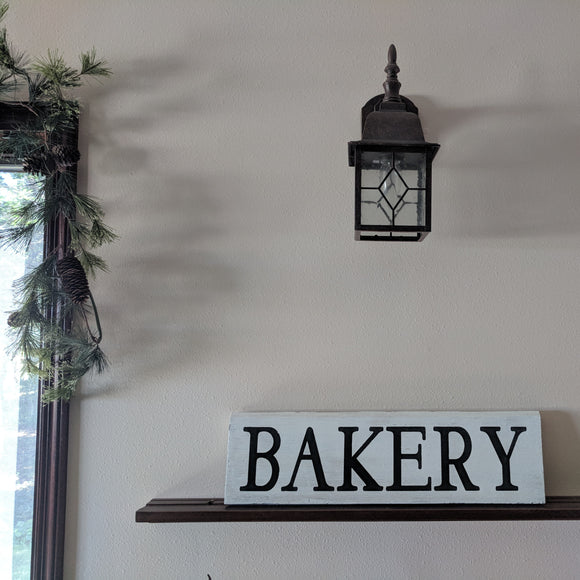Bakery - Graceful Journey Co. Sagewood Sign Co unique gift idea, barn board signs, jewelry, mom essentials, farmhouse style, simplify your life, Premier Designs