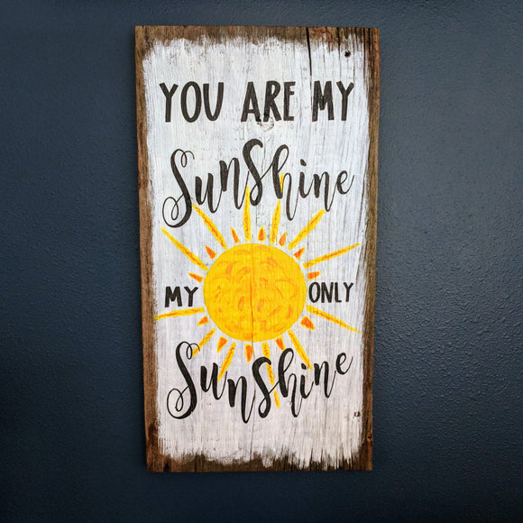 You Are My Sunshine - Graceful Journey Co. Sagewood Sign Co unique gift idea, barn board signs, jewelry, mom essentials, farmhouse style, simplify your life, Premier Designs