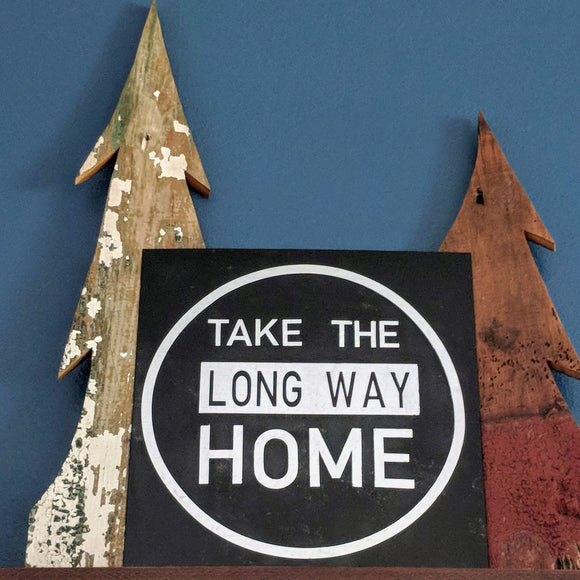 Long Way Home - Graceful Journey Co. Sagewood Sign Co unique gift idea, barn board signs, jewelry, mom essentials, farmhouse style, simplify your life, Premier Designs