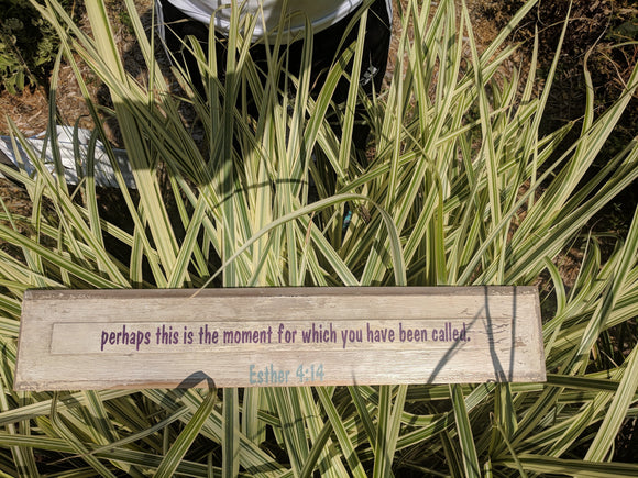The Moment - Graceful Journey Co. Sagewood Sign Co unique gift idea, barn board signs, jewelry, mom essentials, farmhouse style, simplify your life, Premier Designs