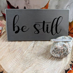 BE STILL Gift Set - Graceful Journey Co. Premier with Anna unique gift idea, barn board signs, jewelry, mom essentials, farmhouse style, simplify your life, Premier Designs