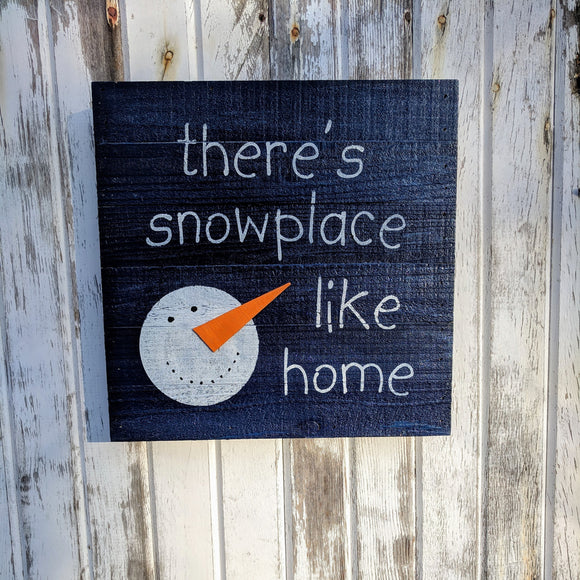Snowplace Like Home - Graceful Journey Co. Sagewood Sign Co unique gift idea, barn board signs, jewelry, mom essentials, farmhouse style, simplify your life, Premier Designs