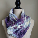 Cowl Scarf in Lavender Variegated - Graceful Journey Co. Made by MAM unique gift idea, barn board signs, jewelry, mom essentials, farmhouse style, simplify your life, Premier Designs