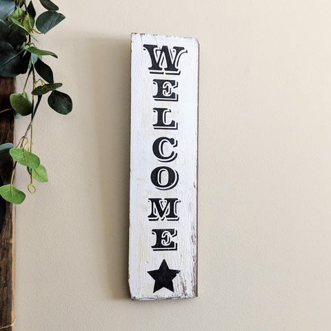 Welcome - small - Graceful Journey Co. Sagewood Sign Co unique gift idea, barn board signs, jewelry, mom essentials, farmhouse style, simplify your life, Premier Designs