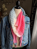 Dusk to Dawn large triangle scarf in unicorn - Graceful Journey Co. Made by MAM unique gift idea, barn board signs, jewelry, mom essentials, farmhouse style, simplify your life, Premier Designs