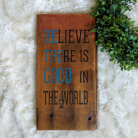Be the Good - Graceful Journey Co. Sagewood Sign Co unique gift idea, barn board signs, jewelry, mom essentials, farmhouse style, simplify your life, Premier Designs
