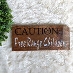 Free Range Children - Graceful Journey Co. Sagewood Sign Co unique gift idea, barn board signs, jewelry, mom essentials, farmhouse style, simplify your life, Premier Designs