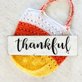Thankful - Graceful Journey Co. Sagewood Sign Co unique gift idea, barn board signs, jewelry, mom essentials, farmhouse style, simplify your life, Premier Designs