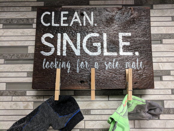 Clean + Single - Graceful Journey Co. Sagewood Sign Co unique gift idea, barn board signs, jewelry, mom essentials, farmhouse style, simplify your life, Premier Designs