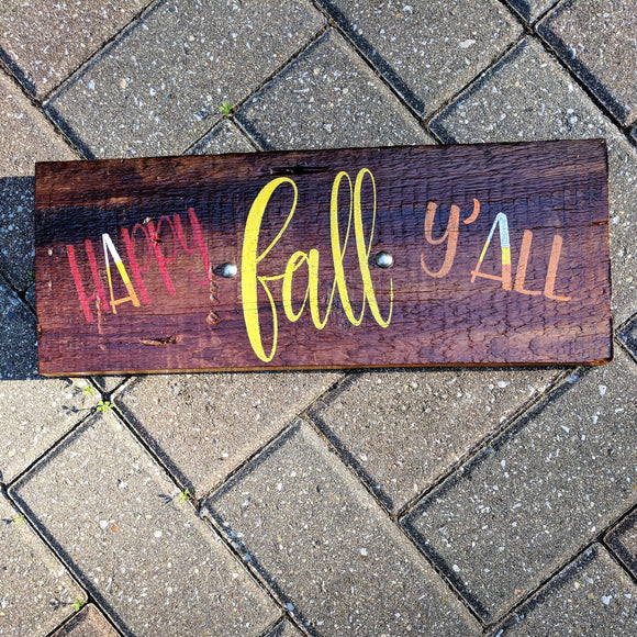 Fall Y'all - Graceful Journey Co. Sagewood Sign Co unique gift idea, barn board signs, jewelry, mom essentials, farmhouse style, simplify your life, Premier Designs