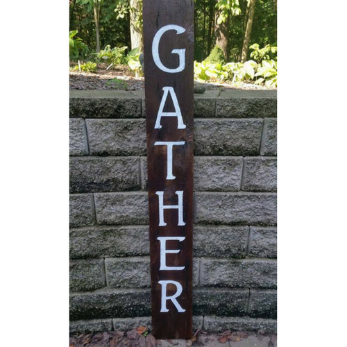 Gather - Graceful Journey Co. Sagewood Sign Co unique gift idea, barn board signs, jewelry, mom essentials, farmhouse style, simplify your life, Premier Designs