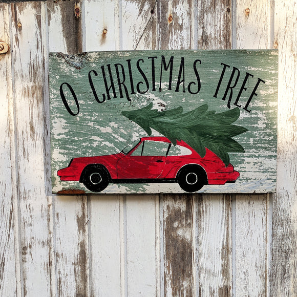 O Christmas Tree - Graceful Journey Co. Sagewood Sign Co unique gift idea, barn board signs, jewelry, mom essentials, farmhouse style, simplify your life, Premier Designs