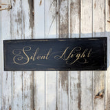 A Silent Night - Graceful Journey Co. Sagewood Sign Co unique gift idea, barn board signs, jewelry, mom essentials, farmhouse style, simplify your life, Premier Designs