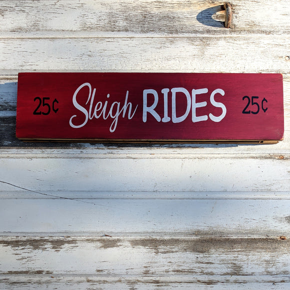 Sleigh Rides - Graceful Journey Co. Sagewood Sign Co unique gift idea, barn board signs, jewelry, mom essentials, farmhouse style, simplify your life, Premier Designs