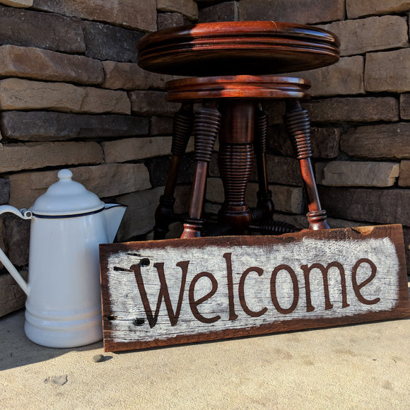 Welcome (painted)