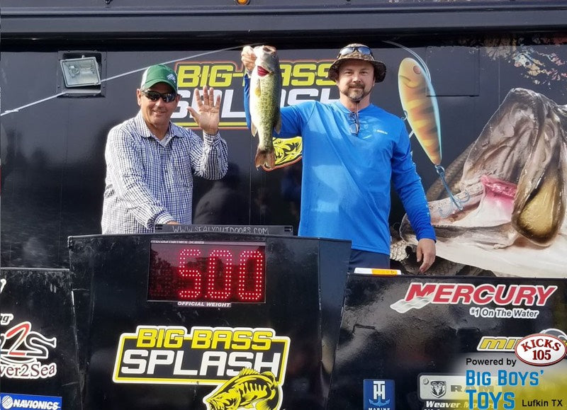Corona™ Swimmer Places at the Toledo Bend Big Bass Splash