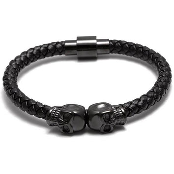 Black Skull Bangle - Wrist Avenue