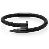 Black Nail Bangle - Wrist Avenue
