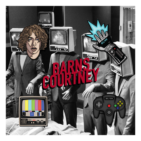 Barns Courtney Enamel Pin Set
