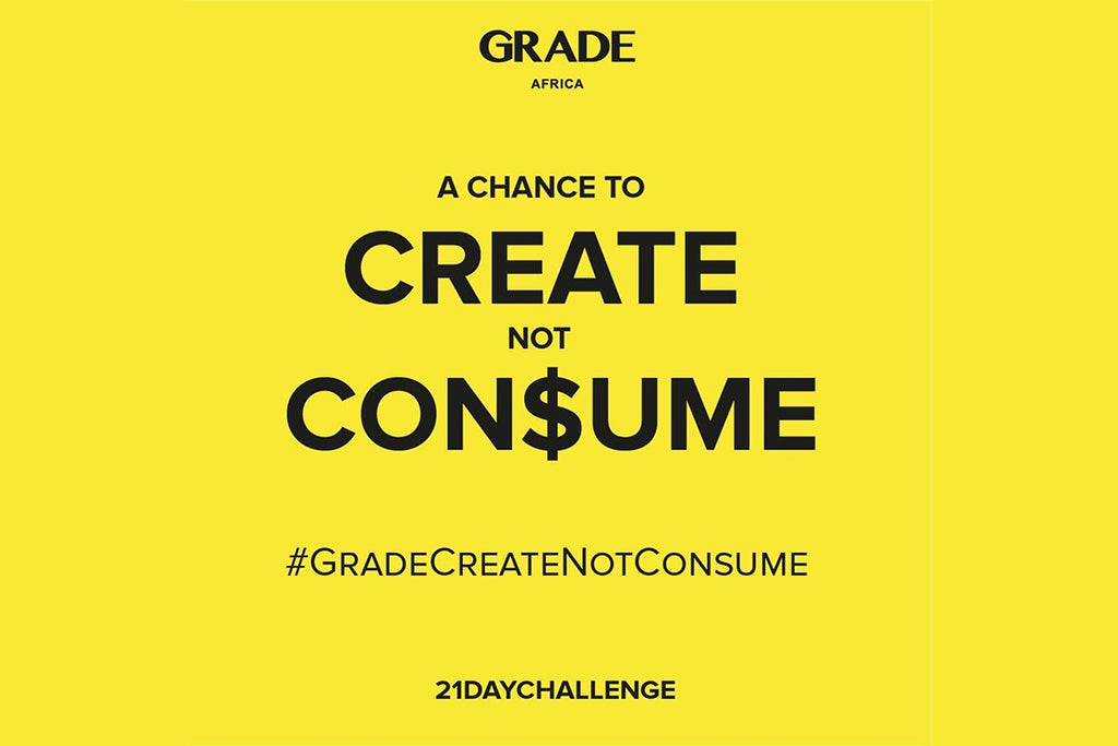 Grade Create Not Consume Challenge