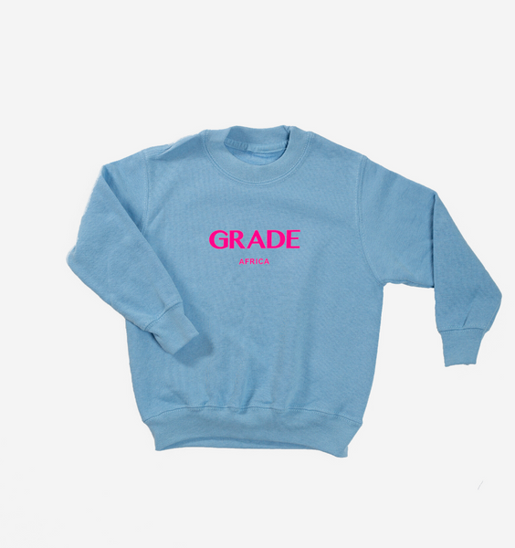 Kids Baby Blue Crewneck