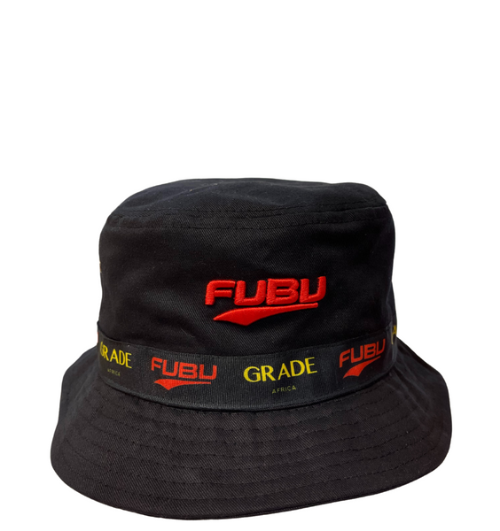 Fubu Collaboration Bucket Hat - Black