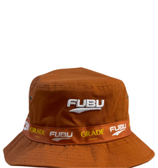 Fubu Collaboration Bucket Hat - Rust Brown
