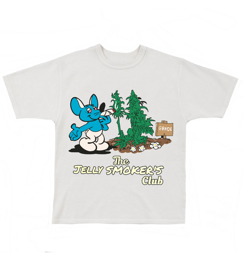 The Jelly Smokers Club Tee - White