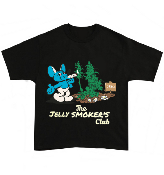 The Jelly Smokers Club Tee - Black