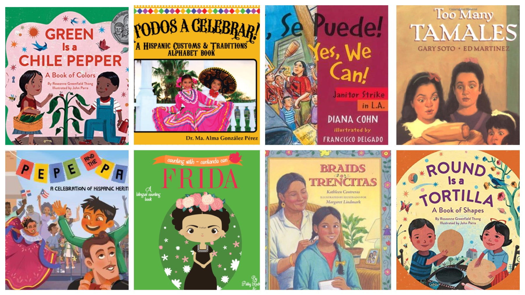 7 Books Recommended By a Latina Mom That Celebrate Hispanic Heritage Month