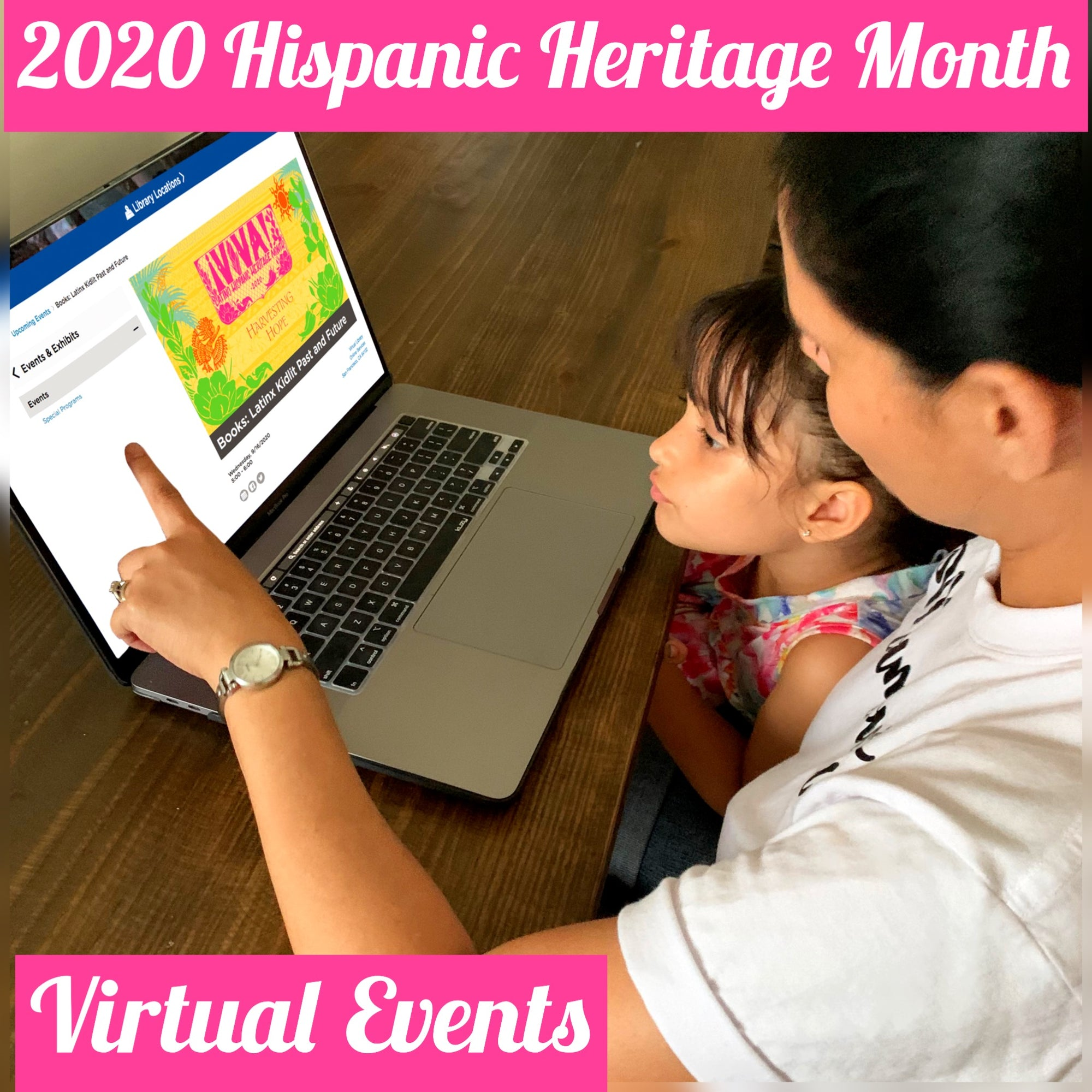 2020 Virtual Events to Celebrate Hispanic Heritage Month
