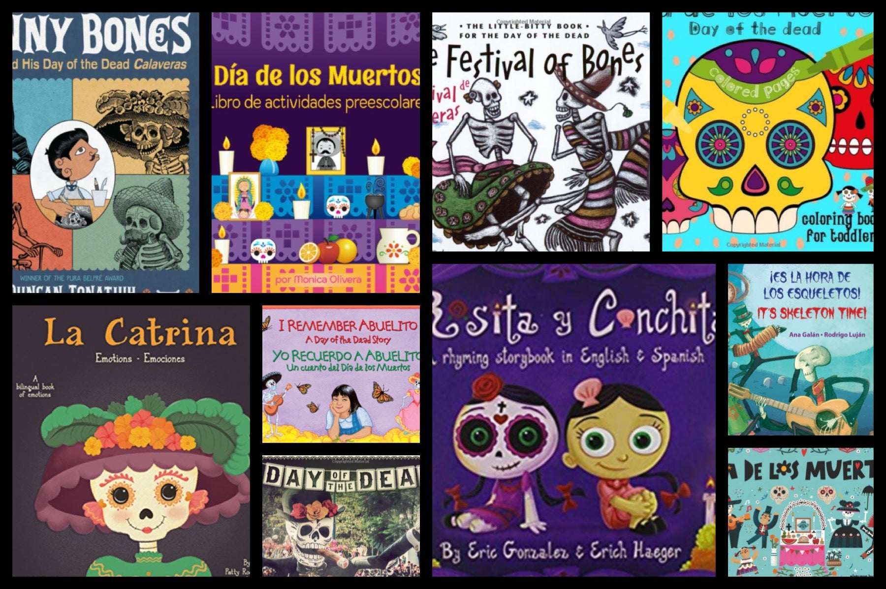 Must Have Bilingual Books for Celebrating Día de los Muertos