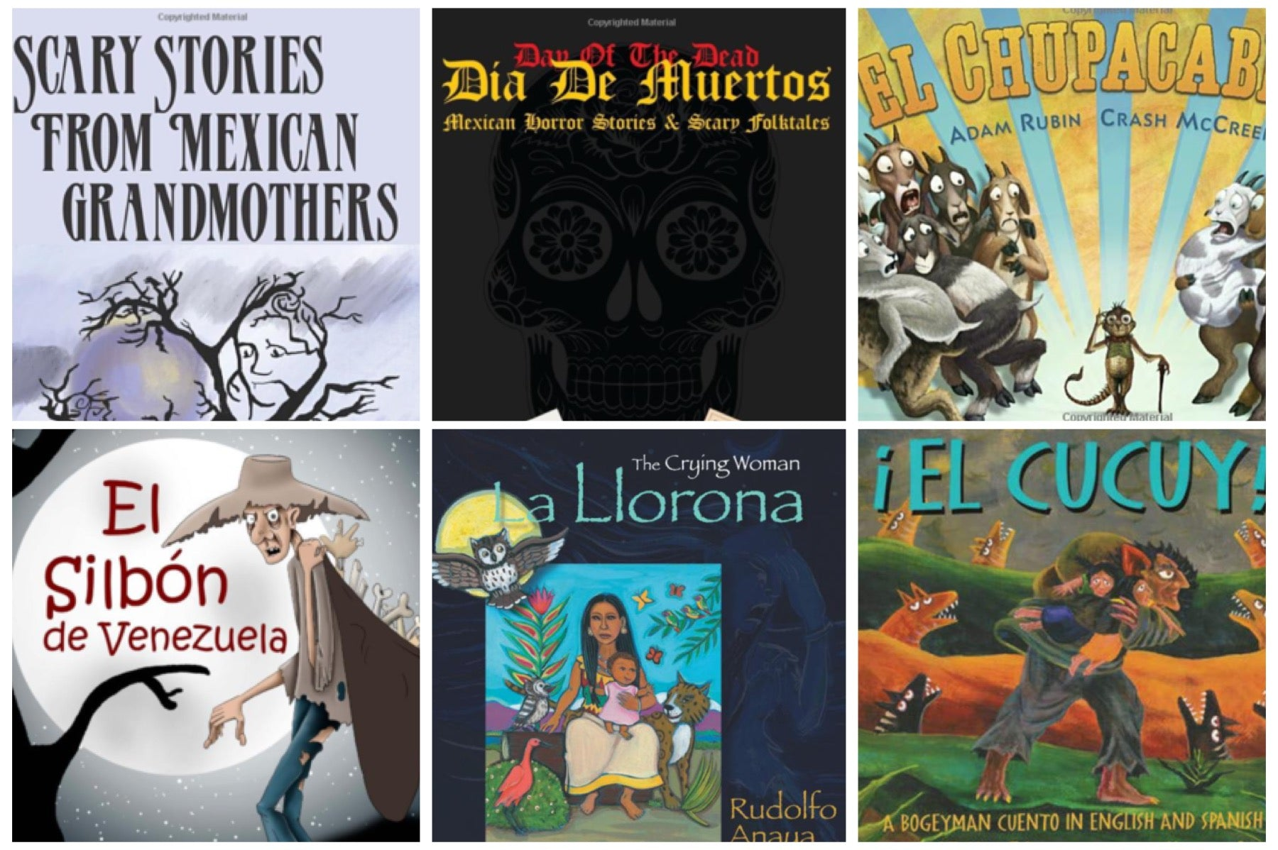 6 Bilingual Books of Scary Latino Legends or Leyendas