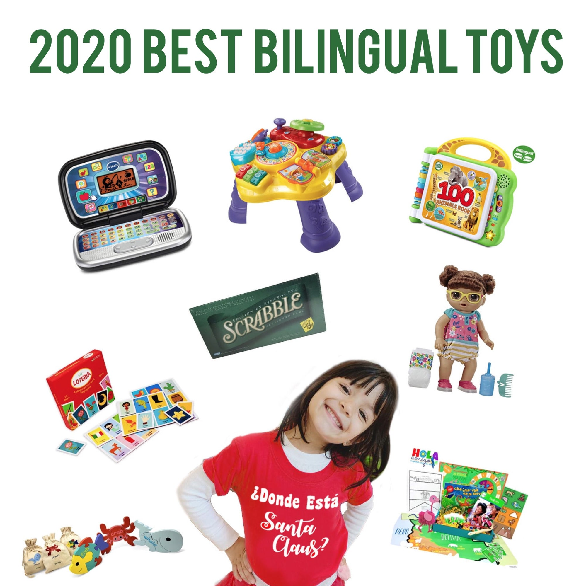 2020 Best Bilingual Toys To Teach Your Child Spanish