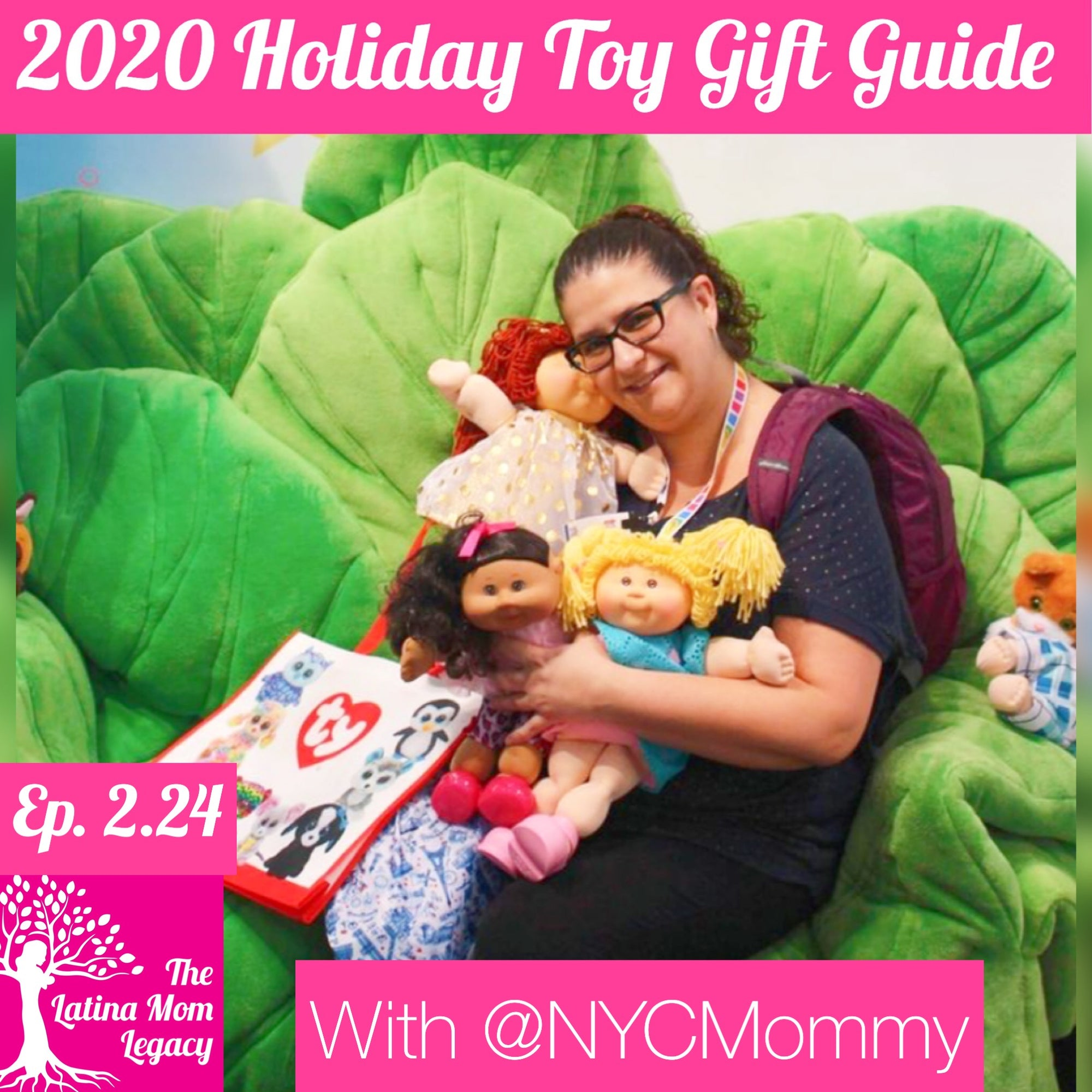 2.24 Monica Encarnación - 2020 Toy Gift Guide - What to Get Kids for Christmas in 2020??