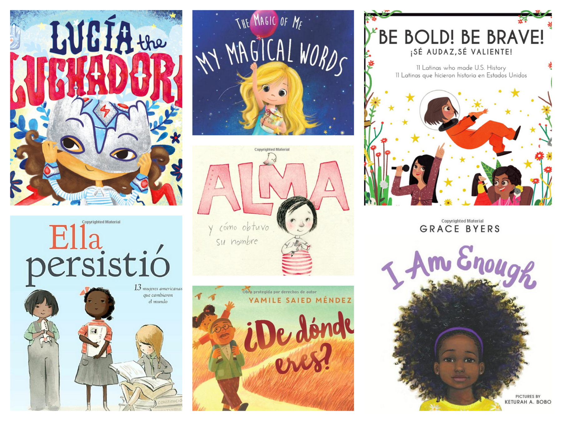 7 Books that Empower Latina Girls in English and Spanish
