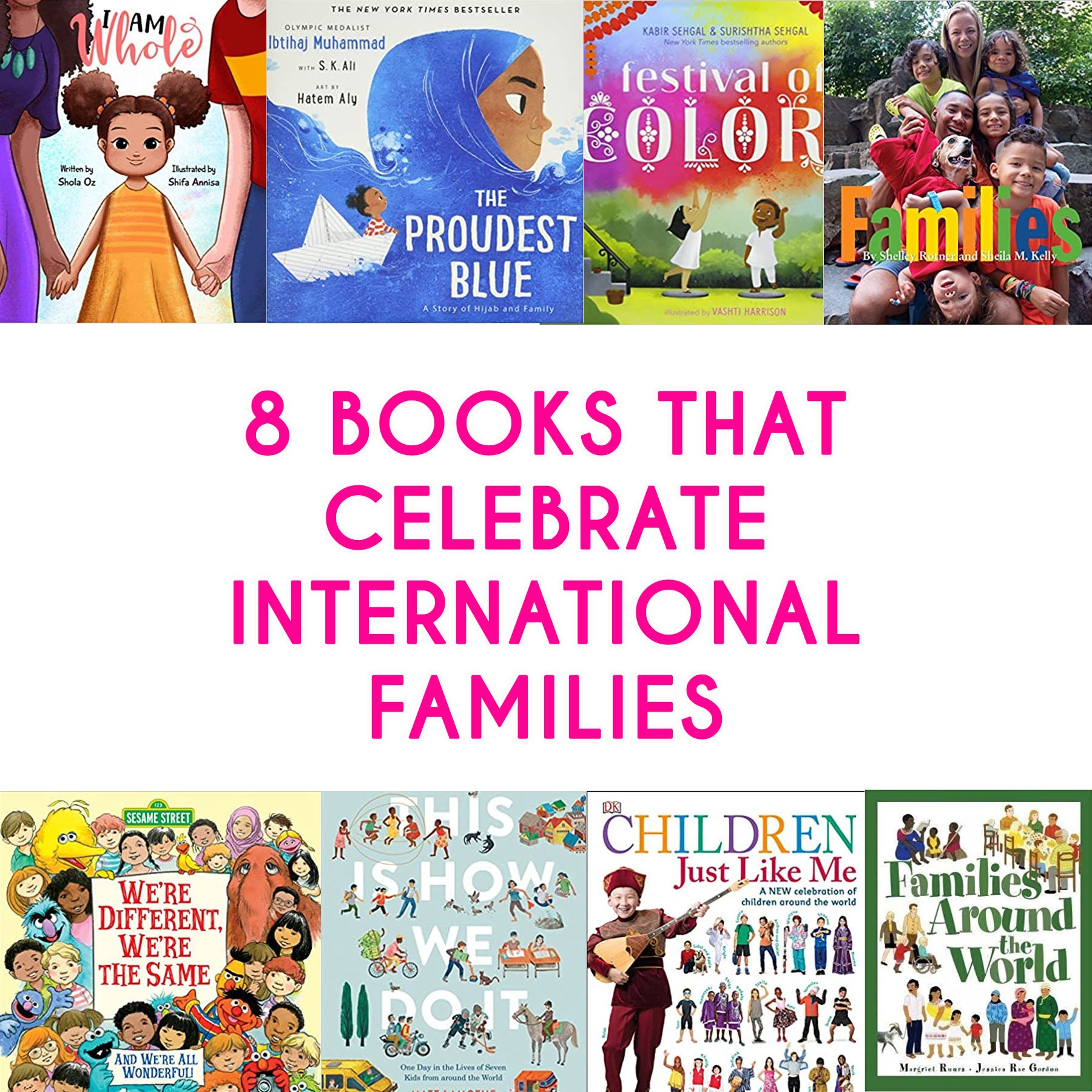 Children's Books About Diverse Families You Need in Your Home Library