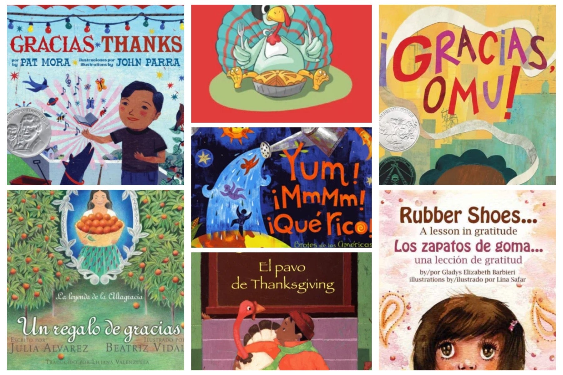 Top Bilingual Spanish Children's Books About Thanksgiving and Gratitude