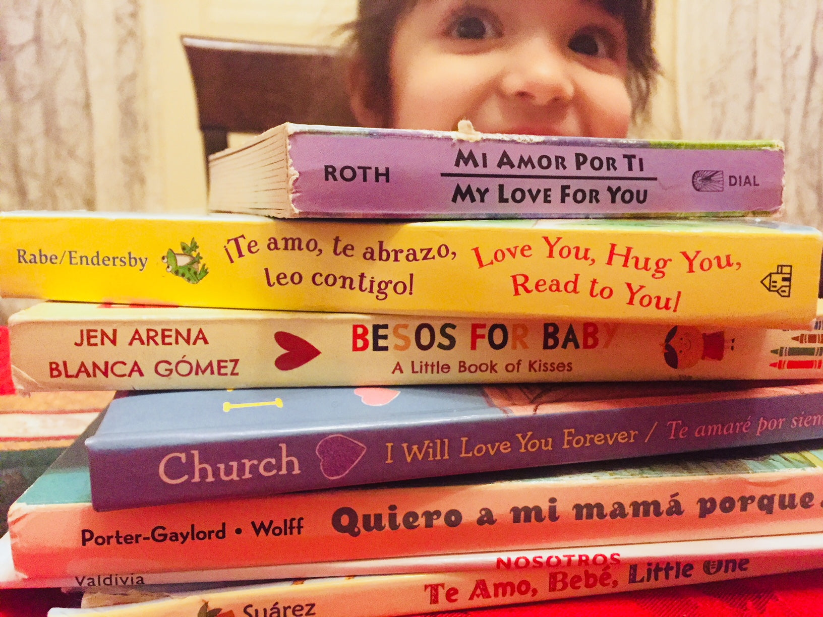 My Daughter's Favorite Bilingual Books About Love, Perfect For Valentine's Day