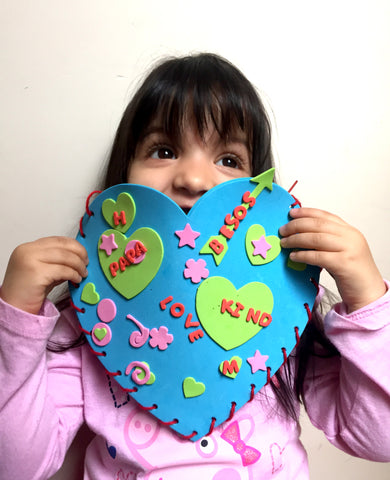 Mi Legasi Heart Card Craft