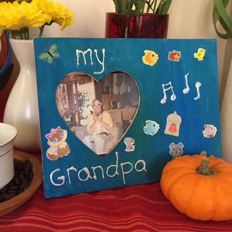 Day of the Dead My Grandpa Picture Frame DIY