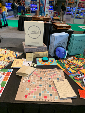 New Scrabble Game at Toy Fair