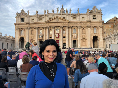 Janny at the Vatican
