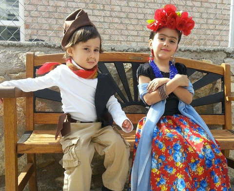 Diego and Frida Costume
