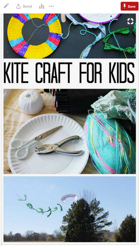 Kite Crafts for Guatemala Day of the Dead