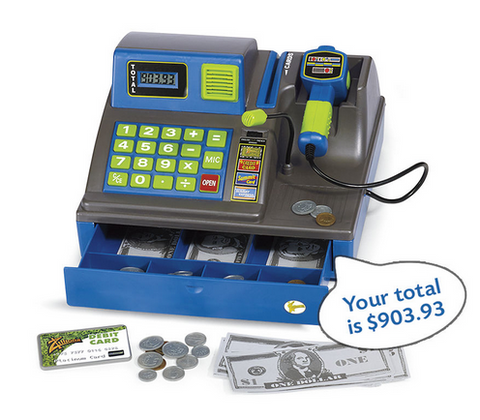 Trilingual Cash Register