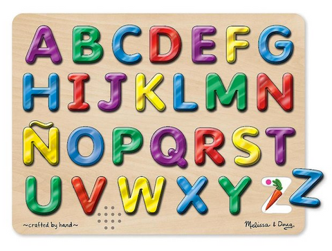 Melissa and Doug Spanish Alphabet